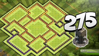 Clash of Clans - 275 WALLS OF DESTRUCTION! NEW Best Townhall 10 (TH10) Farming Base!