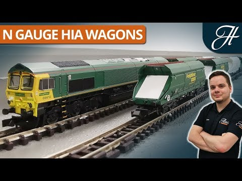 Dapol N Gauge HIA Wagons - Model Overview