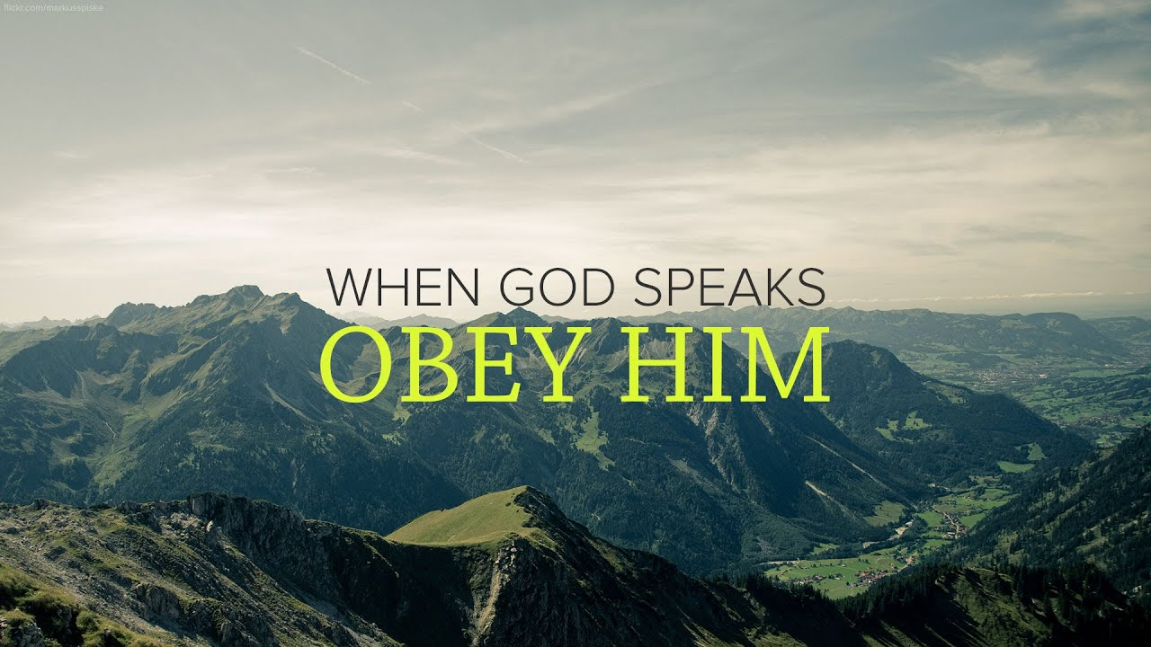 Exodus - When God Speaks, Obey Him - Peter Tanchi - YouTube