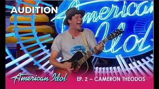 Cameron Theodos: Can This Basketball Coach Singer Be The Next Idol? | American Idol 2018