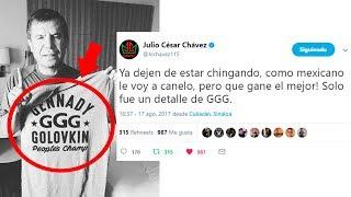 Julio César Chávez explota contra los que dicen que apoya a Golovkin