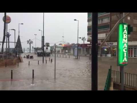 Bad weather Benidorm