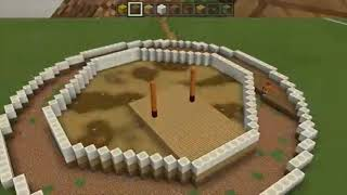 So. I made the globe theatre in minecraft.