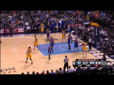 [Highlight] Harrison Barnes with one of most impressive in game dunks vs Nuggets g2 2013 playoffs