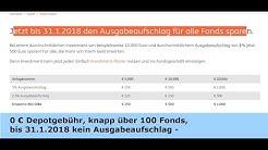 ING-DiBa Depot - die Fonds