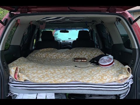 🔴 How To Convert A Car SUV To Camper 🔴 Lifehack АВТОДОМ США 17.08.2019