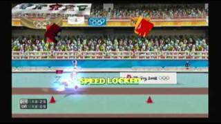 Mario and Sonic at the Olympic Games Athletics: Triple Jump