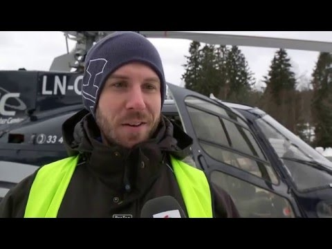 X Games Oslo 2016 - Rigging via helikopter - Wuller (HD)