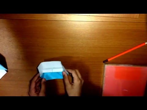 How to make a simple origami piano #2