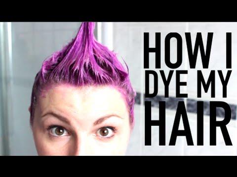 how-i-dye-my-hair-#10yearsonyoutube