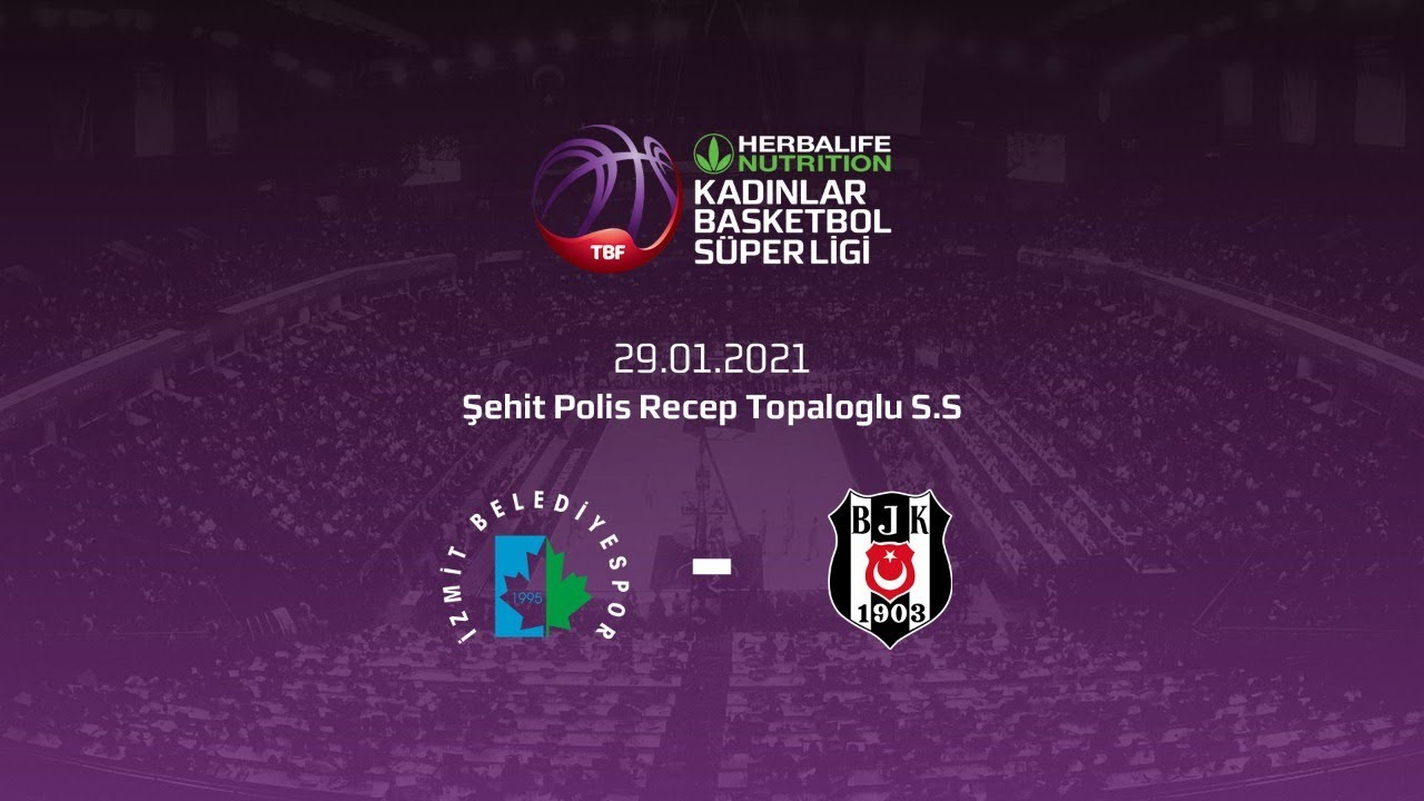 İzmit Belediyespor – Beşiktaş HDI Sigorta Herbalife Nutrition KBSL 18.Hafta