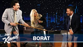 Download lagu Borat Gives Jimmy Kimmel a Coronavirus Inspection