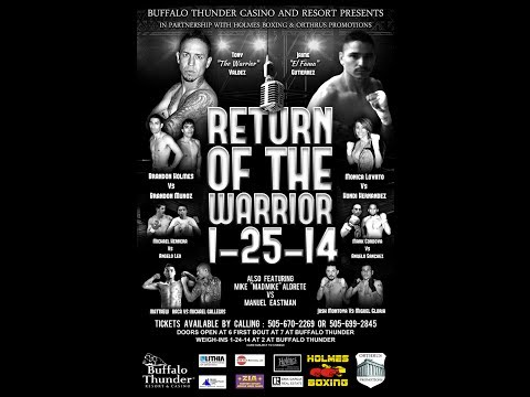 Return of the Warrior Boxing
