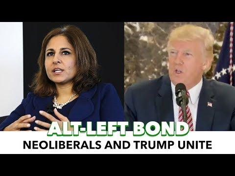 Donald Trump and Neera Tanden Share In Progressive Hate