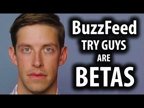 BuzzFeed's Try Guys Are Low Testosterone Betas