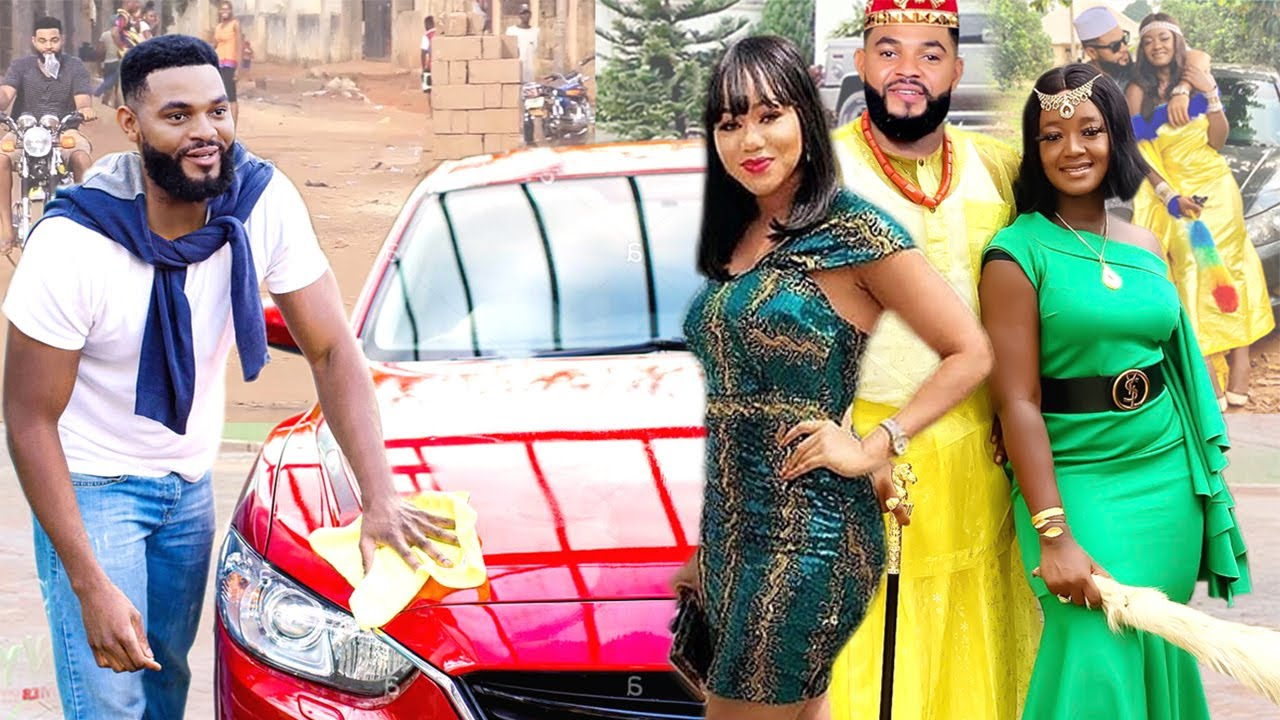 Download The Royal Bloodline Pretend To Be A Driver For 2 Princesses To Find A Humble Wife - Nigerian Movies
