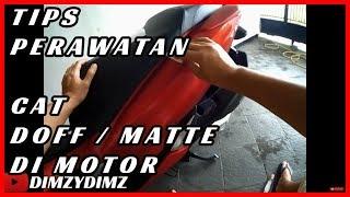 Perawatan Cat Doff / Matte di Motor (2019) thumbnail