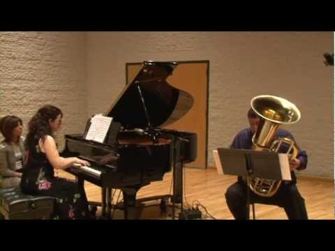 Impromptu for tuba and piano by Larry Christiansen