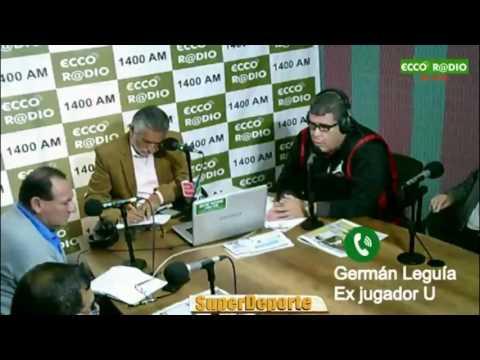 Nota Germán Leguía ex jugador U Superdeporte Miércoles 28 06 17