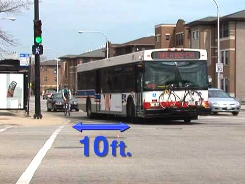 Share The Road - Buses and Bicycles