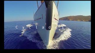 Sailing around the Greek Cyclades
