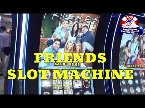 """Friends"" Slot Machine from Bally Technologies"