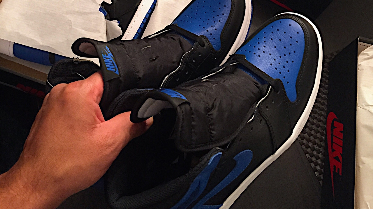 sports shoes 77b2e 1bc1e How to Spot Fake Jordans!!! 2013 Royals vs 2017 Royals Comparison - Review  - Legit Check. Feelgood Threads