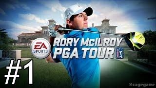 EA Sports Rory McIlroy PGA Tour - Gameplay Walkthrough Part 1 - Prologue [ HD ]
