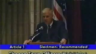 Town Meeting - April 1, 2002