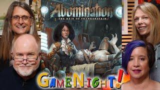 Abomination: The Heir of Frankenstein - GameNight! Se7 Ep47