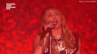 Miley Cyrus - Can't Be Tamed (Live at Primavera Sound Festival) [HD]