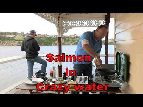 Salmon Cooked In Crazy Water Fishing And Cooking|  With Paul Breheny