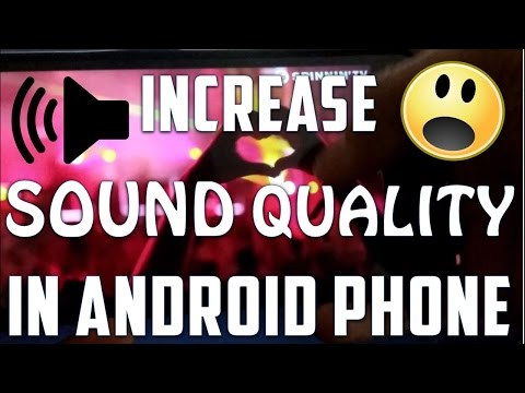 #LifeHack [Fix] Low-Audio & Imporved Sound Quality in Any Android Phone [Yu Yureka]