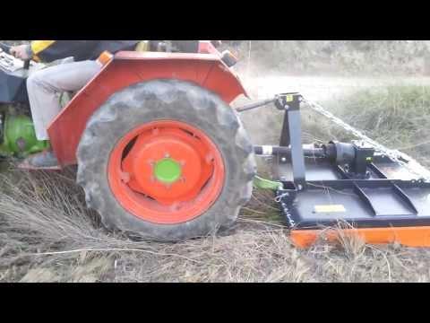 Prueba Desbrozadora Tmc D1-120 Con Agria. Www.Agricolaivars.Com