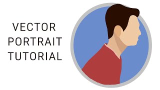 Tutorial Vector Portraits SIMPLE- [autodesk sketchbook pro]