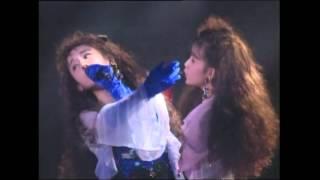 12thシングル『背徳のシナリオ』 1991.10.16リリース 映像は『WINK PERF...