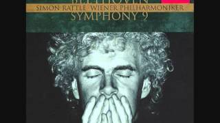 Sir Simon Rattle  - Beethoven -  Symphony No  9   Mov  IV Part 2