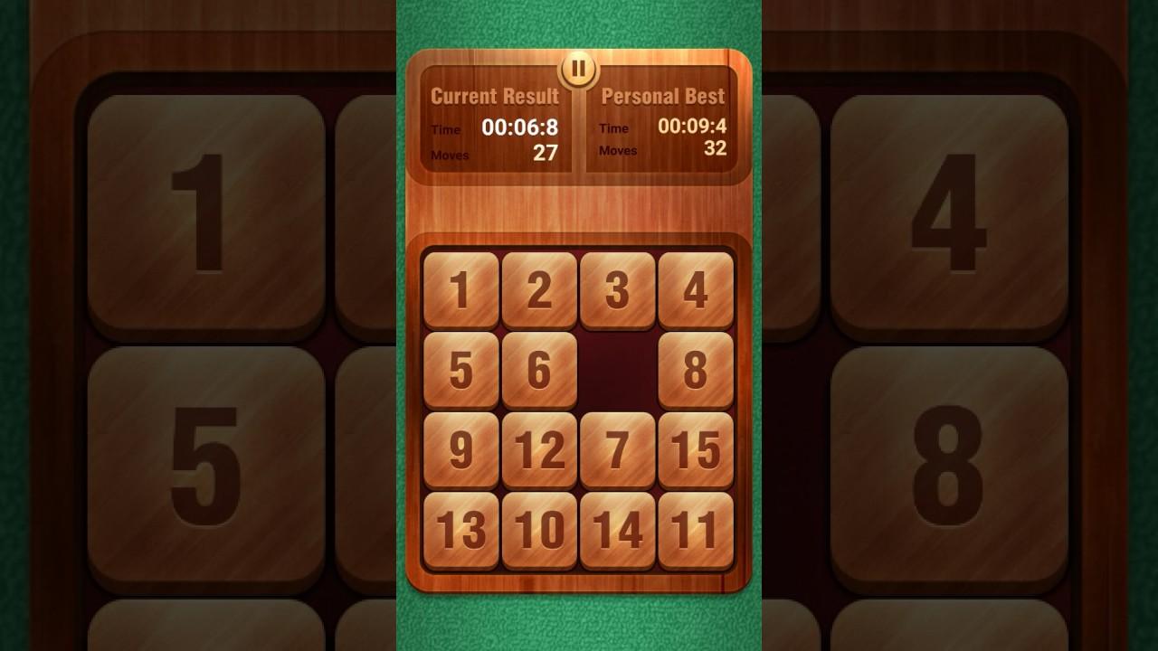 15 puzzle world record