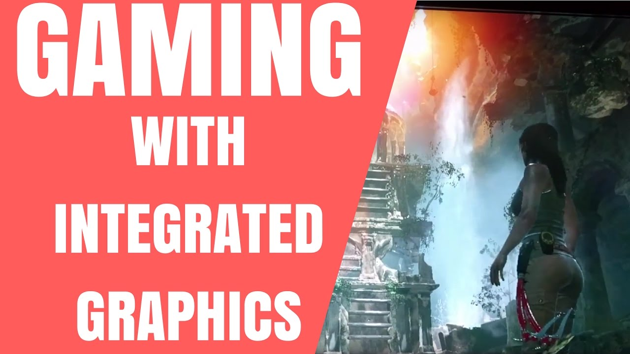 Gaming With Integrated Graphics Amd A8 6600k Apu Youtube