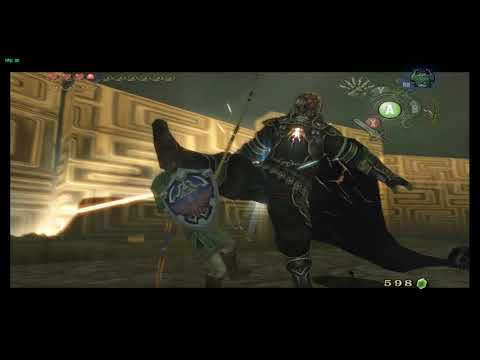 Twilight Princess Ganondorf  Idiot With Fishing Rod