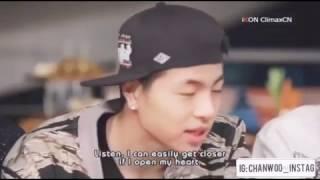 Junhoe iKON open his heart to Chanwoo iKON and Then?