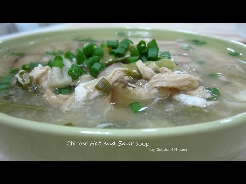 Chinese Hot And Sour Soup | Dietplan-101.com