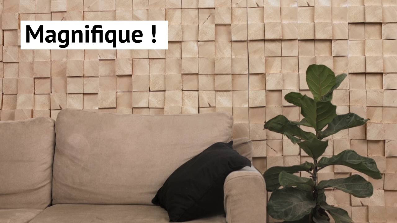 Fabriquer Un Mur De Brique En Bois Youtube