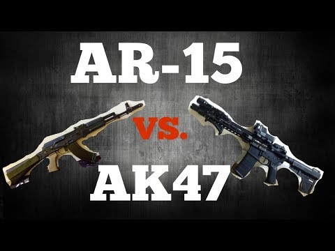 AR-15 Vs AK47 which one is better?!
