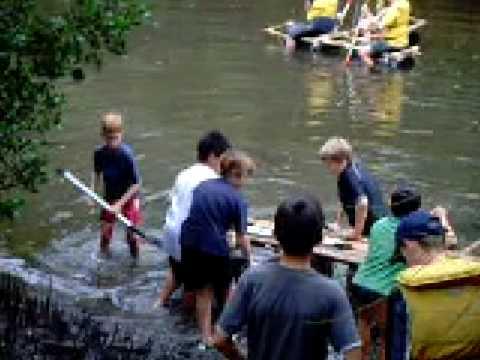 Touching Water First Boronia Raft