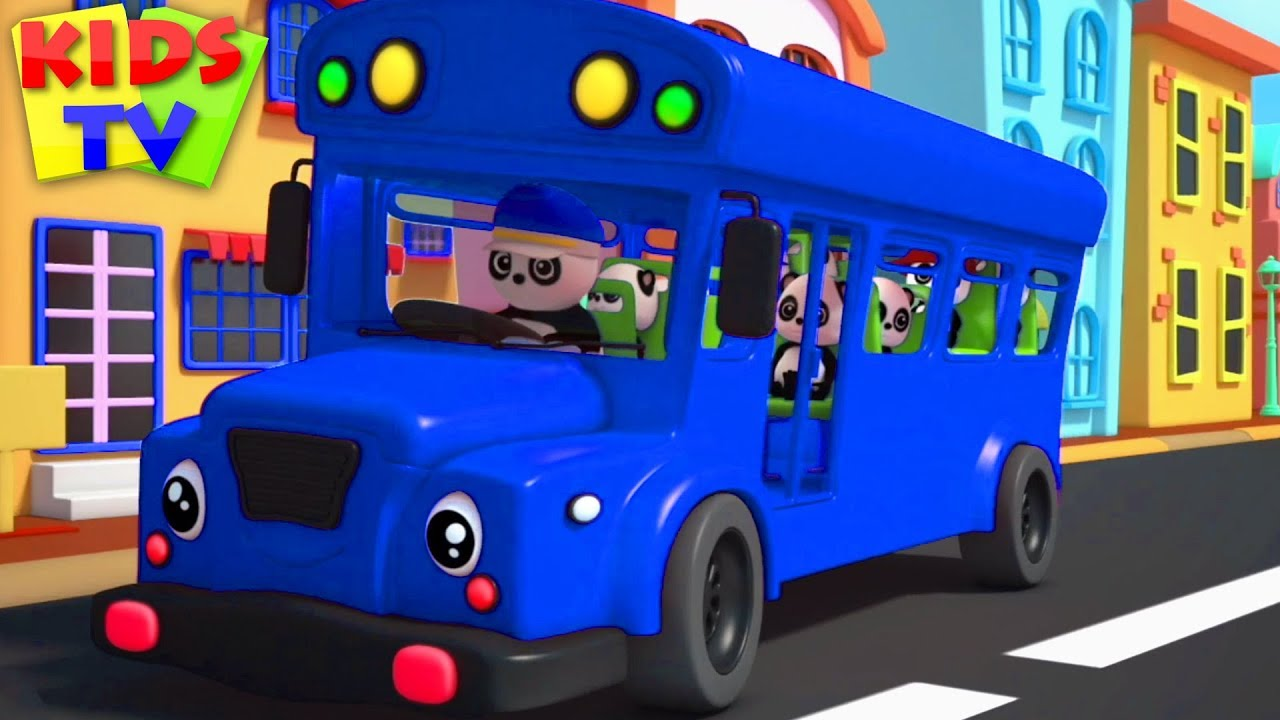 Wheels On The Bus | Baby Bao Panda | Popular Nursery Rhymes & Cartoon Videos - Kids TV