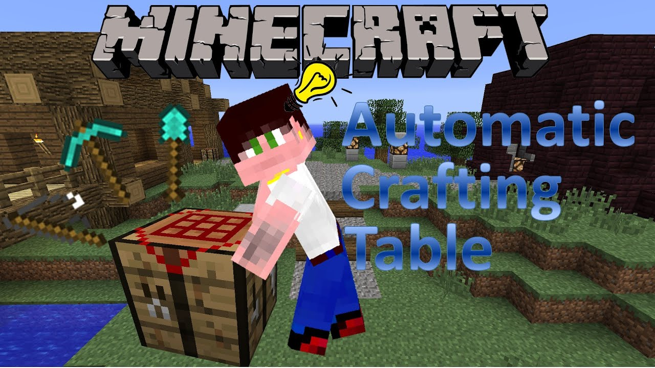 Minecraft Automatic Crafting Table