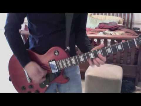 SRV-Tightrope (guitar solo) with Gibson Les Paul Studio Fade