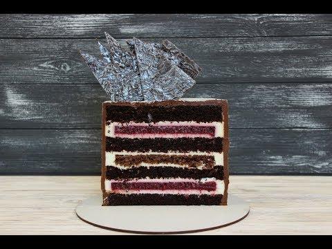 "НОВЫЙ Рецепт Торта ""ЧЁРНЫЙ ЛЕС"" ✧ ШВАРЦВАЛЬД ✧ New BLACK FOREST Cake Recipe"
