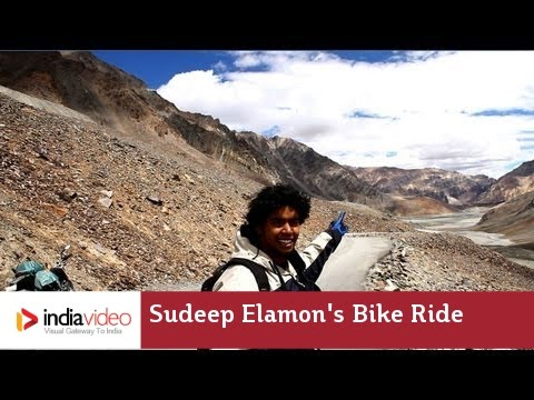 Sudeep Elamon's Bike Ride to the Mighty Himalayas
